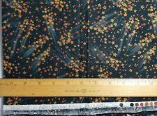 Hoffman Celestials Fabric Shooting stars on Black 1 Yard