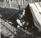 WWII Org Occupied Germany RP- Tent- 2nd Armored Cavalry- Alcohol- Booze- Helmet