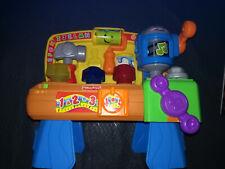 mon grand établi rires et éveil de fisher price, 2009,  jouet d'éveil 1er âge