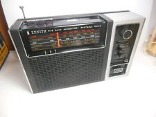 Vintage Zenith RF88Y 5 Band Portable AC Battery Radio Parts/Repair Not Working