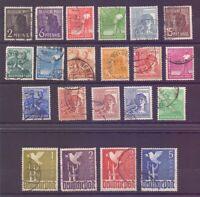 All.Bes. Kontrollrat 1946 - MiNr.943/962 rund gestempelt - Michel 120,00 € (881)