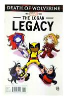 Death of Wolverine The Logan Legacy #1 Skottie Young Variant