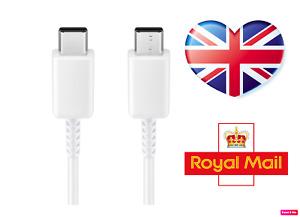Genuine Samsung Type-C To Type-C USB cable EP-DG977 UK STOCK