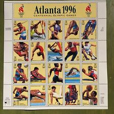 Atlanta 1996 Olympic 20 x 32 Cent U.S. Postage Stamps 1996 #3068