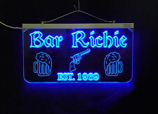 Personalized Sign,  Bar, Man Cave, Business, Garage, Multi-Color - Gift for Dad