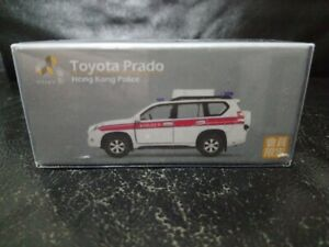 Tiny Hong Kong Toyota Prado AM8014 Hong Kong Police Member Exclusive