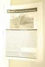 1/72ème NOTICE DE MONTAGE POUR M7 PRIEST - REVELL référence 03157
