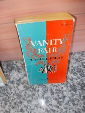 Vanity Fair, by William Makepeace Thackeray, a Washington Square Press book