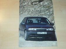 21367) Opel Vectra A 4x4 Prospekt 1989