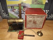 Boxed  Bowman live steam stationary engine c1948 boxed tested