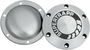 SuperTrapp 402-3046 Aluminum End Cap with Shield with Logo 4in