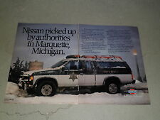 1988 NISSAN HARDBODY 4X4 article / ad