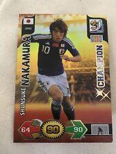 Adrenalyn XL Panini World Cup 2010 Champion Shunsuke Nakamura