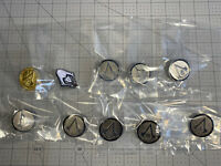 Assassins Creed Collector Pin - Complete Lot Of 10