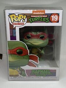 Funko POP RAPHAEL 19 TMNT Teenage Mutant Ninja Turtles with POP Protector