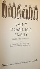 St Dominic's Family Sr Mary Jean Dorcy Priory Press 1st Printing Hardcover 1964