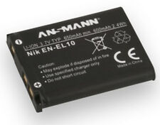 ANSMANN Li-ion Nikon En El 10 Equivalent Replacement Battery