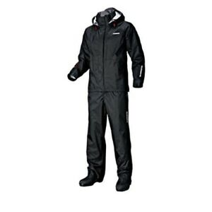 SHIMANO RA-027Q DS Basic Suit XL Black Breathable-Waterproof Japan Tracking