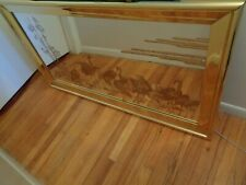Vintage Large Hanging Mirror with Birds 1980's Era, Local Pick Up Only Michigan