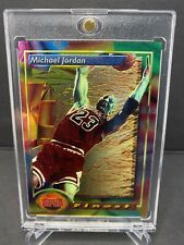 1993-94 Topps Finest Michael Jordan #1 Chicago Bulls PSA? - MINT!