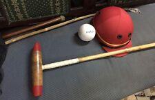 Polo stick, coton sergé polo casque, balle