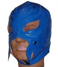 WWE REY MYSTERIO Kid Size Solid BLUE Replica MASK