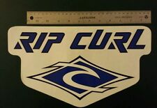 "Rare Vintage Old School RIP CURL Surfboard Sticker Decal X-LARGE 13 3/4"" x 8"""