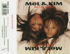 MEL & KIM - That's the way it is 3TR CDM 1988 SYNTH-POP / Stock Aitken Waterman