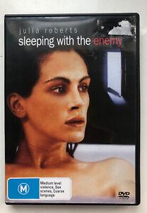 Sleeping With The Enemy DVD. Julia Roberts - Region 4 AU DVD. VGC. Thriller.