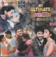MY ULTIMATE LOVE HITS 2016 - NEW BOLLYWOOD SOUNDTRACK 2CD SET -FREE UK POST