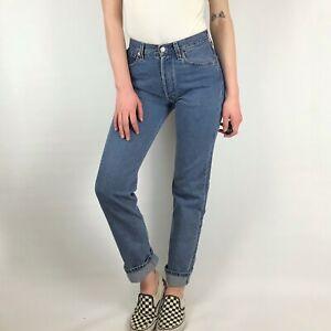 Women`s Vintage Levi`s 501 Boyfriend Jeans UK 8-10, W29 L32