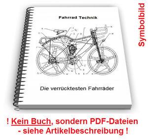 Fahrrad Liegerad Dreirad selbst bauen - Technik Patente Patentschriften