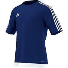 Adidas hombre camiseta estro 15 Dark Blue/white (azul) L