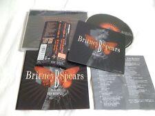 BRITNEY SPEARS / B in the Mix the Remixes  /JAPAN LTD CD OBI sticker