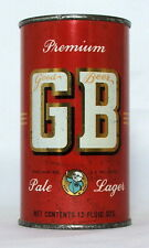 New ListingGb Pale Lager 12 oz. Flat Top Beer Can-Grace Bros., Santa Rosa, Ca.