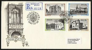 wc031 SWA South West Africa SWAKOPMUND histori buildings FDC first day cover