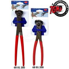 Knipex 200mm & 280mm End Cutting Nips Nippers Pliers 6801200SB 6801280SB 2-Pack