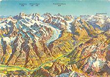B68451 Aletschgebiet und Goms Wallis switzerland