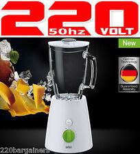 Braun JB3060 New 220v Blender 220-240 Volt For European Socket Voltage EU Plug