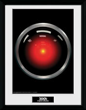2001 A Space Odyssey Hal 9000 - Mounted & Framed Print