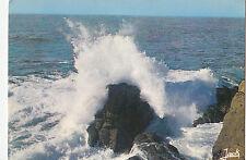 BF20342 effet de vagues sur la cote bretagne  france front/back image