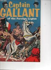 CAPTAIN GALLANT OF THE FOREIGN LEGION 1955 NM VERY RARE-BUSTER CRABBE ONE OFF