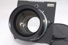 Fujinon W 250mm f/6.3 f 6.3 Lens w/ Copal Toyo Board *493343