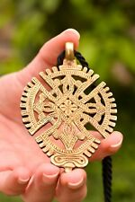 """Jewelry Handmade rope 30"""" inch Cross necklace women Christian Medieval Pendant"""