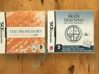 The Professor's Brain Training: Logic NDS 2DS Nintendo DS Video Games