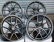 """19"""" GM GTO ALLOY WHEELS FOR HYUNDAI COUPE IX20 IX35 KONO NEXO ELANTRA 114"""