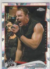 2014 Topps Chrome WWE Atomic Refractor Dean Ambrose #16