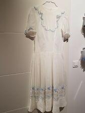 Ancienne robe voile de coton, années 30