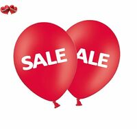 "SALE  12"" Printed Red Latex Asst Balloons Pack of 5 by Party Decor"