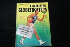1951-52 Harlem Globetrotters Silver Anniversary Season